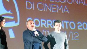 Claudio Amendola e Luca Argentero alle 39° Giornate Professionali di Cinema a Sorrento