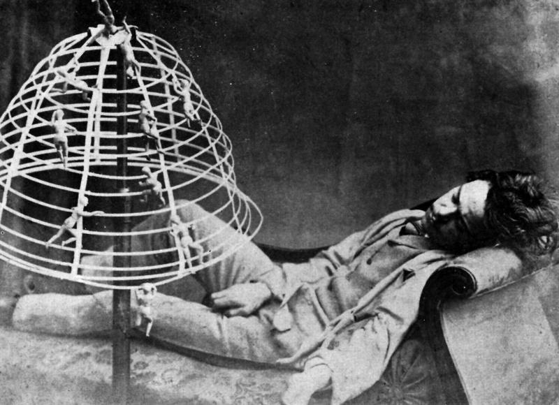 Il Sogno (The Dream by O. G. Rejlander)