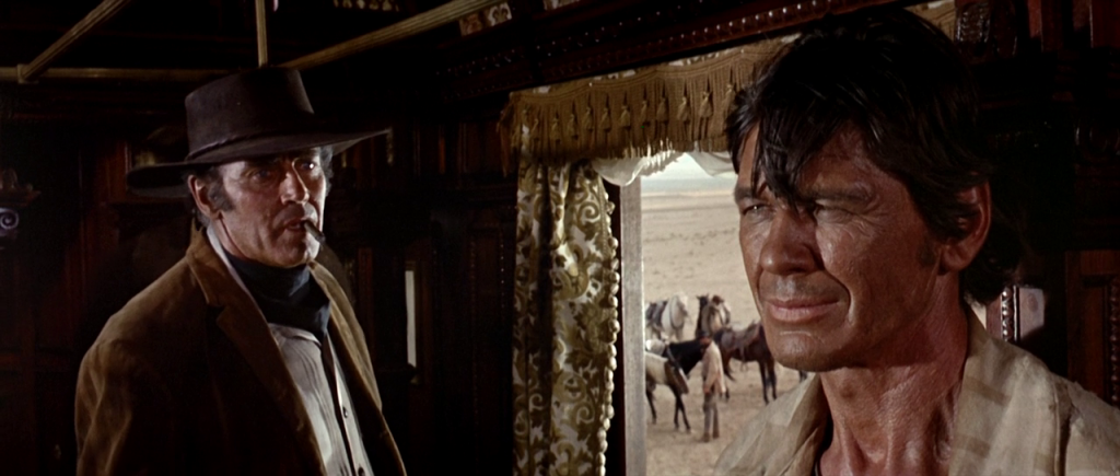 Frame dal film C'era una volta il West di Sergio Leone
