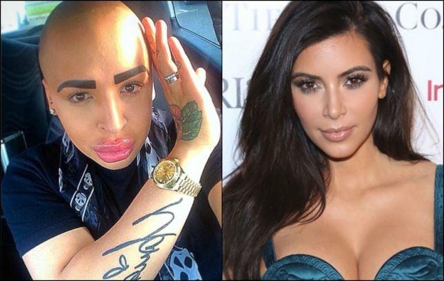 Jordan James Parker e Kim Kardashian