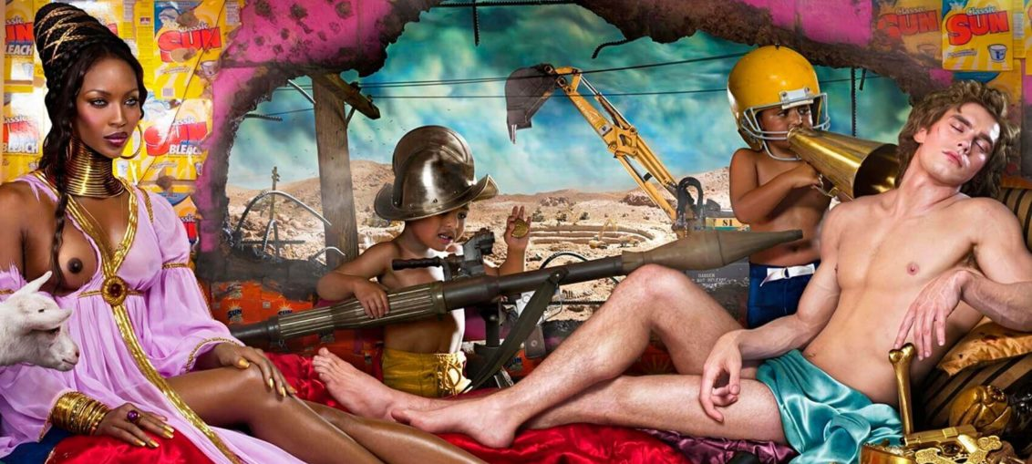 Rape of Africa di David LaChapelle