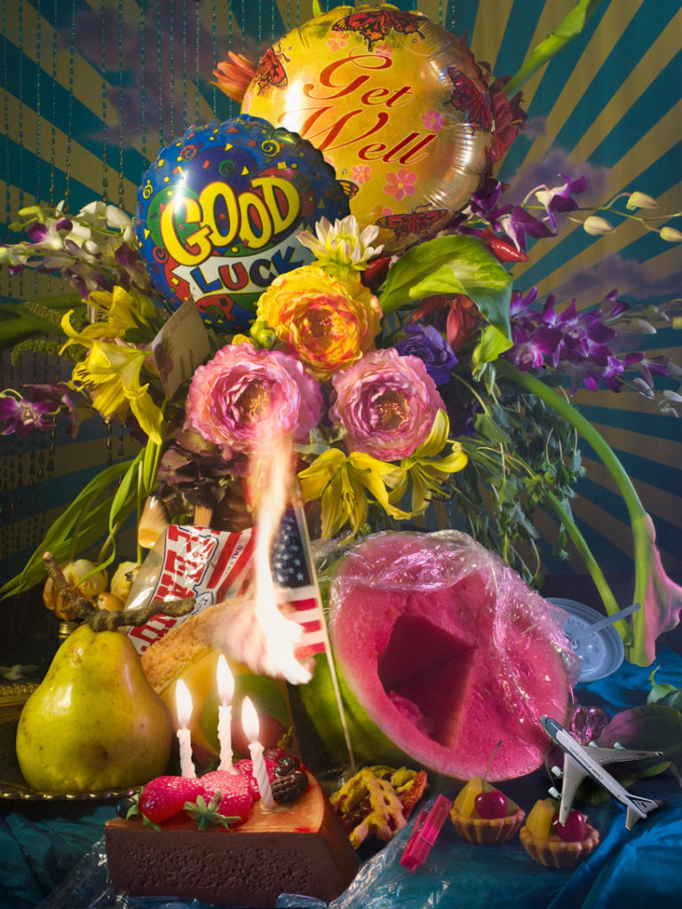 America, still life di David Lachapelle