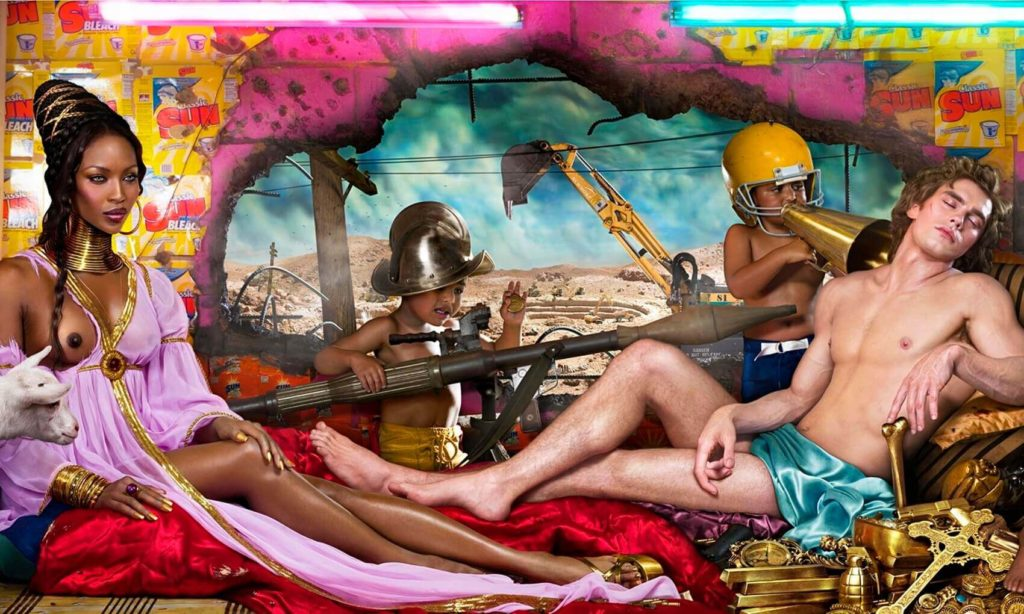 Violenza dell'Africa, David LaChapelle